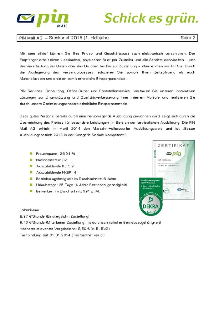 Post und Telekommunikation, Postreform 1989: Entwicklung Postdienste ...