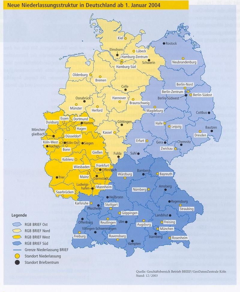 Post Und Telekommunikation Kep 2003 Juni Bis Dezember