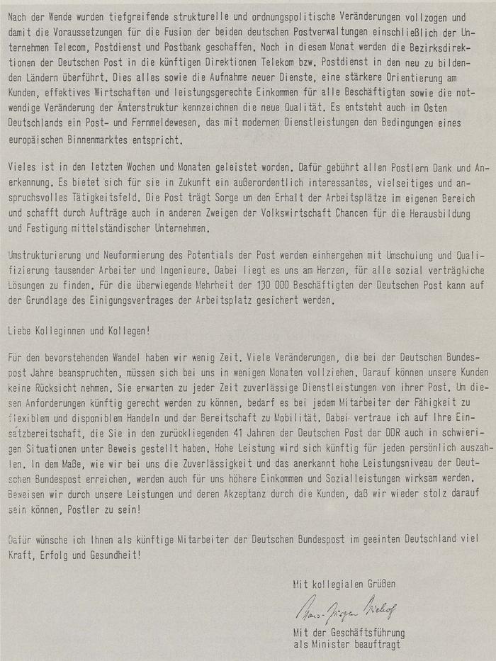 Post Und Telekommunikation Der Gastbeitrag Franz Schöll Fusion